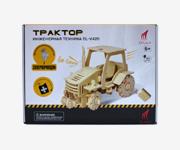 Трактор. Деревянный конструктор с ДУ